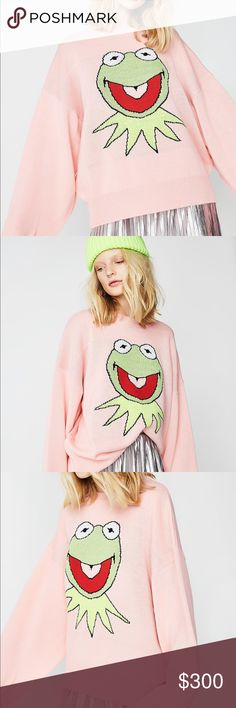 💖 LAZY OAF LSB KERMIT SWEATER 💖 Cozy, adorable Kermit sweater by Little Sunny Bite stocked by Lazy Oaf 💕💕 It was sold out within hours of being listed on Lazy Oaf and Dolls Kill. Rare opportunity to buy it at a NWT condition! It's still in its original packaging. It contains a bit of wool so feels so good on 💕 *I'm listing it at the original price of the item $200 + the Poshmark fee (which is a lot). I accept reasonable offers :) Lazy Oaf Sweaters