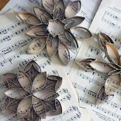 bricolage facile fleur carton