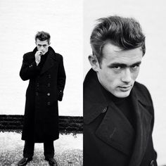 Old Hollywood Actors, James Dean Photos, Bad Picture, Golden Age, Beautiful People, Raincoat, Take That, Fashion, Rain Jacket