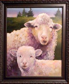 Ewe & Lamb...I just love sheep!