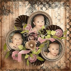 """""""So Adorable"""" new kit by Angel's Designs exclusively on SBB http://scrapbookbytes.com/store/manufacturers.php?manufacturerid=252"""