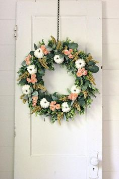 Fall Wreath ~ Fall D