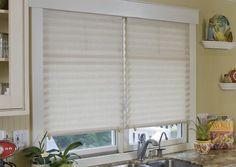 Redi-Shades These window shades are AMAZING!! At about $5.00 (average) they're great for new homes, dorms.......anywhere you need some quick, easy & inexpensive window coverings. They look great & I just can't say enough about them!!