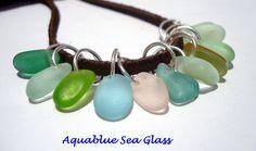 Drilled Sea Glass 12 Sea Glass Small To  Tiny  by aquablueseaglass, $24.00