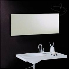 Bathroom Origins Mirrors - Vasic Slim Rectangular 120 Mirror