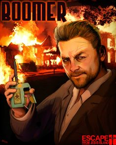 Boomer, from the Escape From Jesus Island Comic Series. Art by Mortimer Glum. Horror Comics, Black Ops, Vatican, Viral Videos, Prison, Funny Jokes, Island, Artwork, Fictional Characters