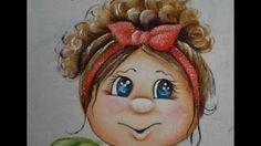 Pintando cabelo e aprendendo sobre tintas que se usa nesta pintura   Cantinho do Video