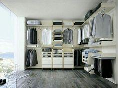 Minimalist Wardrobe Do it yourself guide to building a perfect Capsule Wardrobe Wardrobe Sets, Walk In Wardrobe, Walk In Closet, Closet Space, Capsule Wardrobe, Wardrobe Wall, Wardrobe Storage, Closet Bedroom, Minimalist Closet