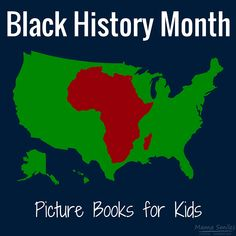 Picture books for Black History Month. This post features a mix of biographical picture books and fiction books featuring African American children.
