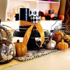 Halloween center piece