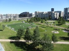 A new build #Apartment in lovely Ørestad with a #Beautiful view to the golf course.