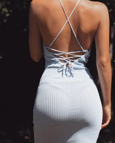 This t-shirt material in a dress form is life ! The booty is is on a pedestal where it should be after all those days in the gym !