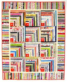 Button Box Selvage Quilt Pattern Quilt by KarenGriskaQuilts, $5.00