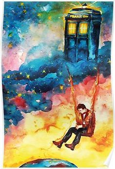 The Man Who Lived On A Cloud - Doctor Who Posters