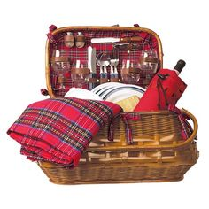 I pinned this Highlander Picnic Basket Set from the A Picnic in the Park event at Joss and Main!