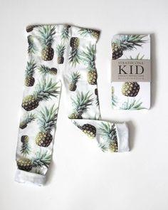 ~ Kids Pineapple Tights ~