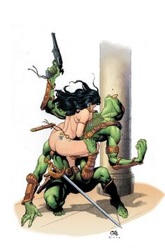 The Art of Barsoom: Frank Cho