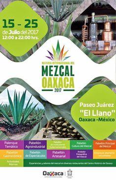 XX Feria Internacional del Mezcal #Oaxaca 2017 | Curiosidades Gastronómicas