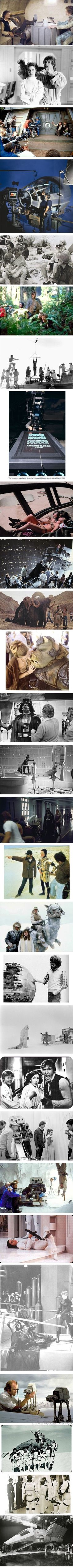 Star Wars behind the scenes!