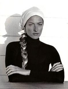 Tatjana Patitz by Peter Lindbergh