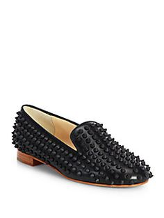 Christian Louboutin - Rolling Spikes Loafers