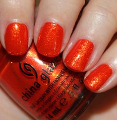 """China Glaze """"Riveting"""" from The Hunger Games collection"""