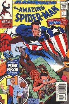 Image result for flashback amazing spider-man