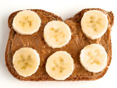 Peanut-butter banana sandwich! A childhood (and adult) favorite