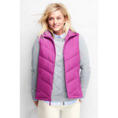 51a21e5c9bea15 Nwt Pink Down Vest! Cool Coats, Fashion 101, Outerwear Women, Raincoats For