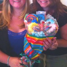 """""""I love Dylan's Candy Bar"""" Candy Bouquet."""