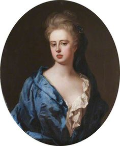 portrait of an unknown woman, formerly known as Sarah Churchill, née Jenyns, Duchess of Marlborough, by the Swedish born artist Michael Dahl