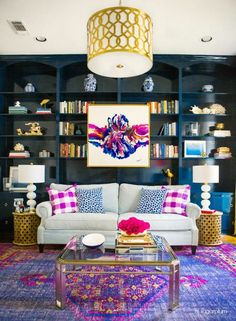 Awesome 9 Amazing Living Room Design Ideas to fit any style. From boho to traditional great design inspiration. The post 9 Amazing Living Room Design Ideas to fit any style. Living Room Designs, Living Room Decor, Dining Room, Home And Deco, Formal Living Rooms, Eclectic Decor, Eclectic Style, My New Room, House Colors