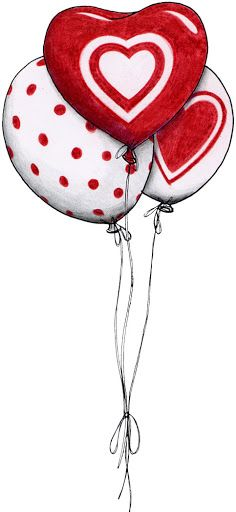 Pinned onto valentines day illustration Board in Valentines Day Category Decoupage, Clip Art, I Love Heart, Cute Clipart, Happy Valentines Day, Painted Rocks, Illustration, Projects To Try, Happy Birthday