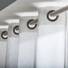 Rideau Metis, blanc, 135 x 260 cm