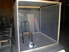Beautiful Garage Paint Booth