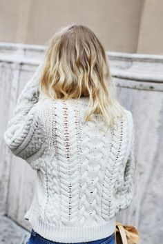 Cozy chic / casual crime knit