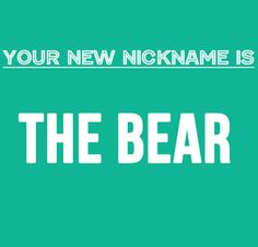 What Should Your Nickname Be