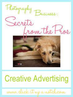 Photography Business: Creative Advertising Through Giving Back