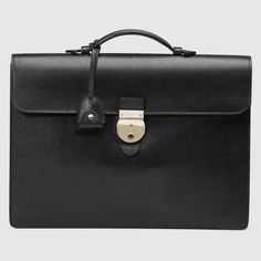 Gucci Leather flap briefcase Briefcase For Men c06601210c6a6