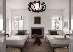 Lake Forest Showhouse Guest Suite | Michael Del Piero