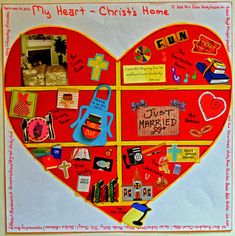 photo relating to My Heart Christ's Home Printable named Religion Reserve Programs