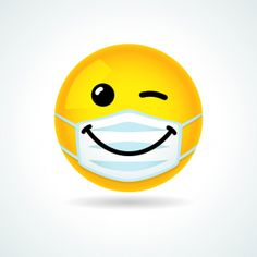 Ami Secret, Emoji Mask, Les Sentiments, Class Of 2020, Mouth Mask, Soft Blankets, Smile Face, Free Vector Art, Smiley