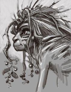 The King of the Elves -Elves/Hidden Creature designs. - The Art of Aaron Blaise
