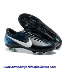 low priced 4a3b9 29e1b Buy Nike Mercurial Vapor X CR FG Black White Blue For Sale Real Madrid, Nike