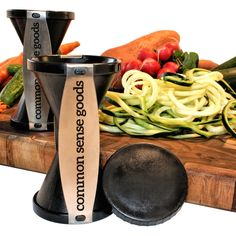 Amazon.com: Spiralizer Bundle - Spiral Vegetable Slicer with eCookbook + Cleaning Brush - Make the Best Veggie Noodles & More with This Raw Food V Cutter: Kitchen & Dining