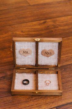 Rustic Ring Box