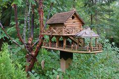 Unique birdhouses (7) by KarlGercens.com, via Flickr I love this!!