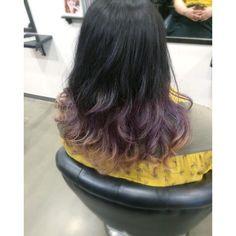 color purple gradation