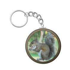 Cute Squirrel Keychain for cute wildlife gifts under 5 dollars for squirrel lovers. Wildlife Gifts Squirrel Merchandise, Gorgeous African Giraffe, Kissing Monkeys and other Wildlife Gifts CLICK HERE: http://www.zazzle.com/littlelindapinda/gifts?cg=196768325683531540&rf=238147997806552929*/  Many are Customizable and more cheap squirrel gifts and products. ALL of Little Linda Pinda Designs CLICK HERE: http://www.Zazzle.com/LittleLindaPinda*/
