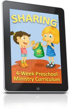 FREE Sharing Preschool Ministry Lesson